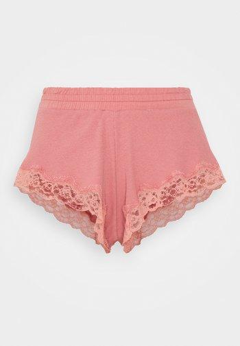 x NA-KD SHORT MIA - Pyjama bottoms - dusty pink