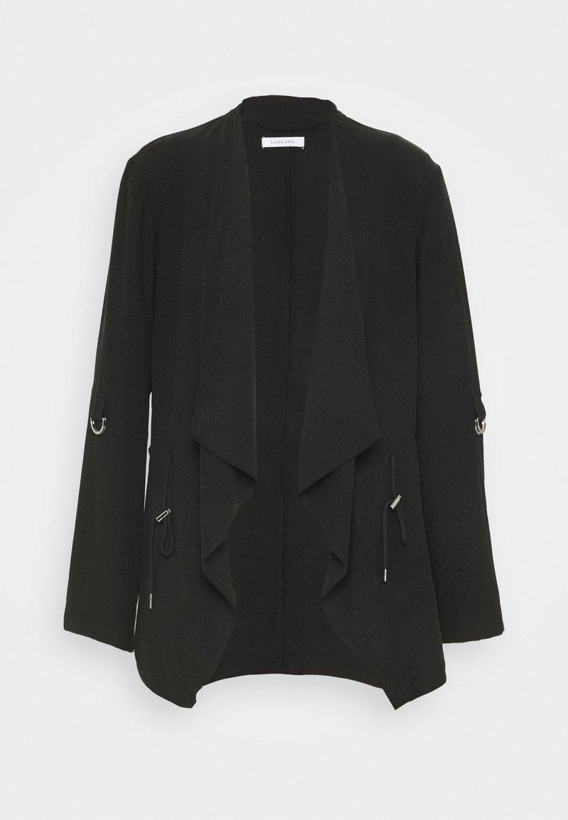 LASCANA - JACKE - Summer jacket - schwarz