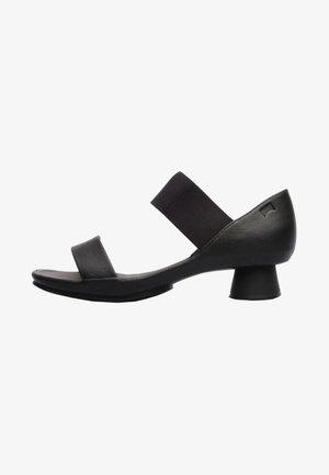 ALRIGHT - Sandaalit nilkkaremmillä - black