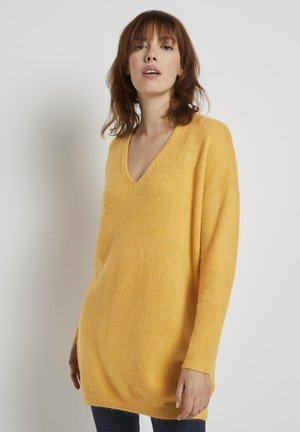 Strickpullover - indian spice yellow