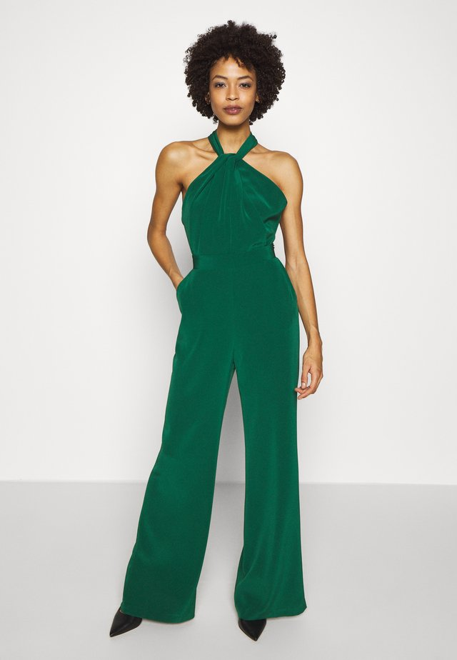 HALTER NECK - Tuta jumpsuit - bottle