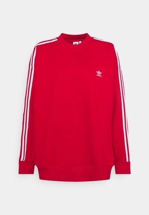 Sweatshirt - scarlet