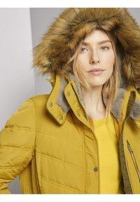 TOM TAILOR - SIGNATURE PUFFER COAT - Winter coat - california sand yellow - 3
