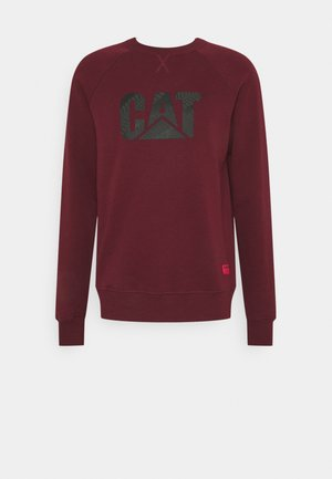 WHEEL PRINT - Sweatshirt - bordeaux
