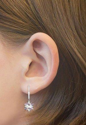 SCHMETTERLING - Earrings - lila