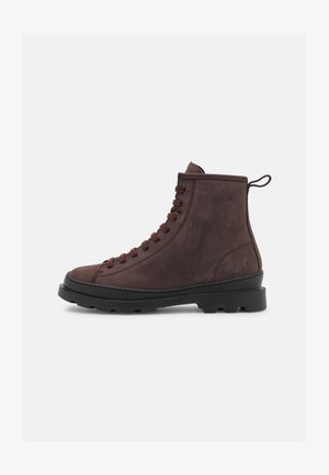 BRUTUS - Lace-up ankle boots - dark brown