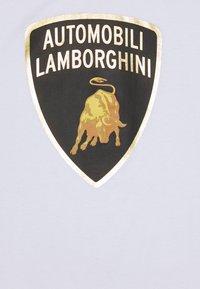 AUTOMOBILI LAMBORGHINI - Print T-shirt - ghiaccio - 2