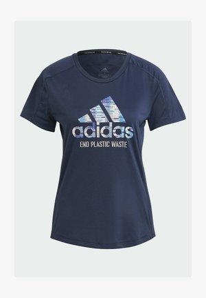 RUN FOR THE OCEANS GRAPHIC - T-shirt z nadrukiem - blue