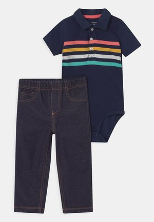 MULTISTRIPE SET - Trousers - dark blue