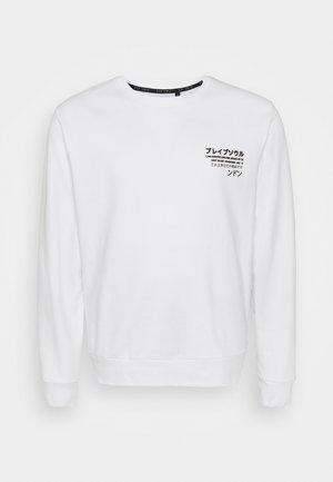 SHENRON - Sweatshirt - white