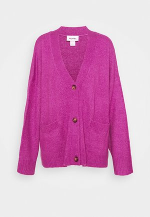 BOBBI - Strikjakke /Cardigans - purple