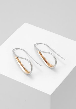 KARIANA - Earrings - silver-coloured/rose gold-coloured