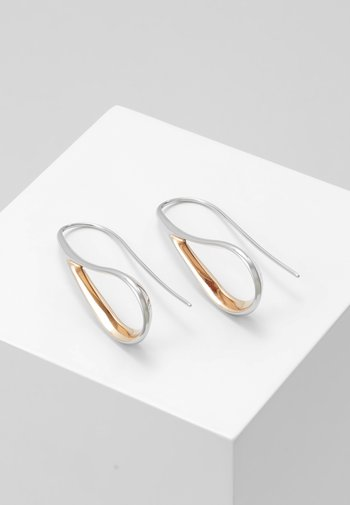 KARIANA - Earrings - silver-coloured/rose gold-coloured