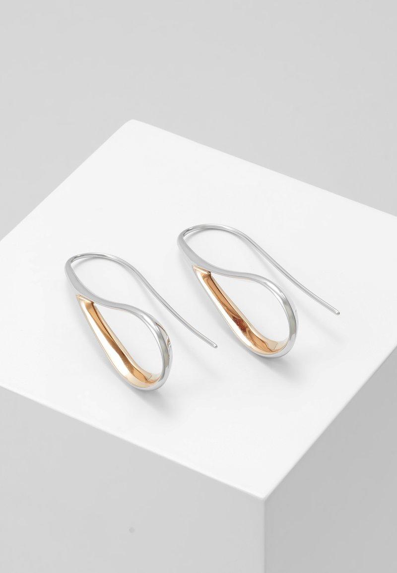 Skagen - KARIANA - Earrings - silver-coloured/rose gold-coloured