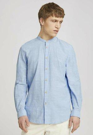 Overhemd - light blue white chambray