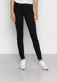 Lee - SCARLETT - Jeans Skinny Fit - black rinse - 0