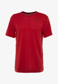 Nike Performance - Basic T-shirt - university red/black - 3