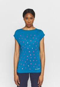Vaude - TEKOA - T-shirt con stampa - kingfisher - 0