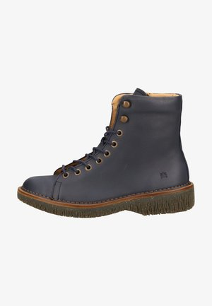 Platform ankle boots - ocean