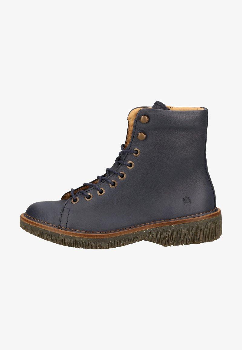 El Naturalista - Platform ankle boots - ocean