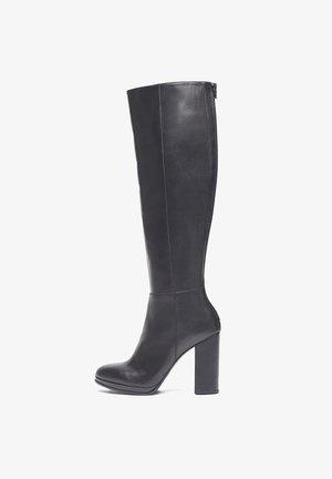 Laarzen met hoge hak - schwarz