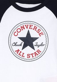 Converse - CHUCK PATCH RAGLAN  - Bluzka z długim rękawem - white - 4