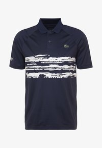 Lacoste Sport - TENNIS POLO DJOKOVIC - Polo shirt - navy blue/white - 7