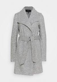 Vero Moda Tall - VMBRUSHEDDORA JACKET - Classic coat - light grey melange - 0
