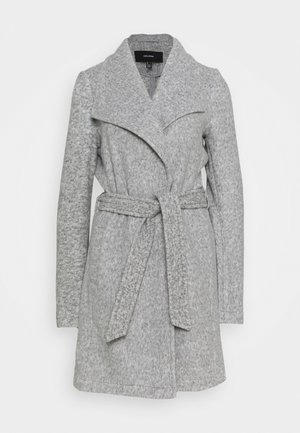 VMBRUSHEDDORA JACKET - Classic coat - light grey melange