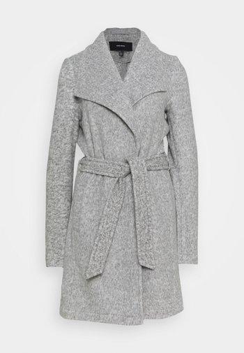 VMBRUSHEDDORA - Klasický kabát - light grey melange