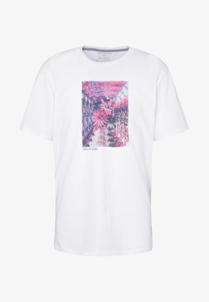 FREQUENT - T-shirt con stampa - white