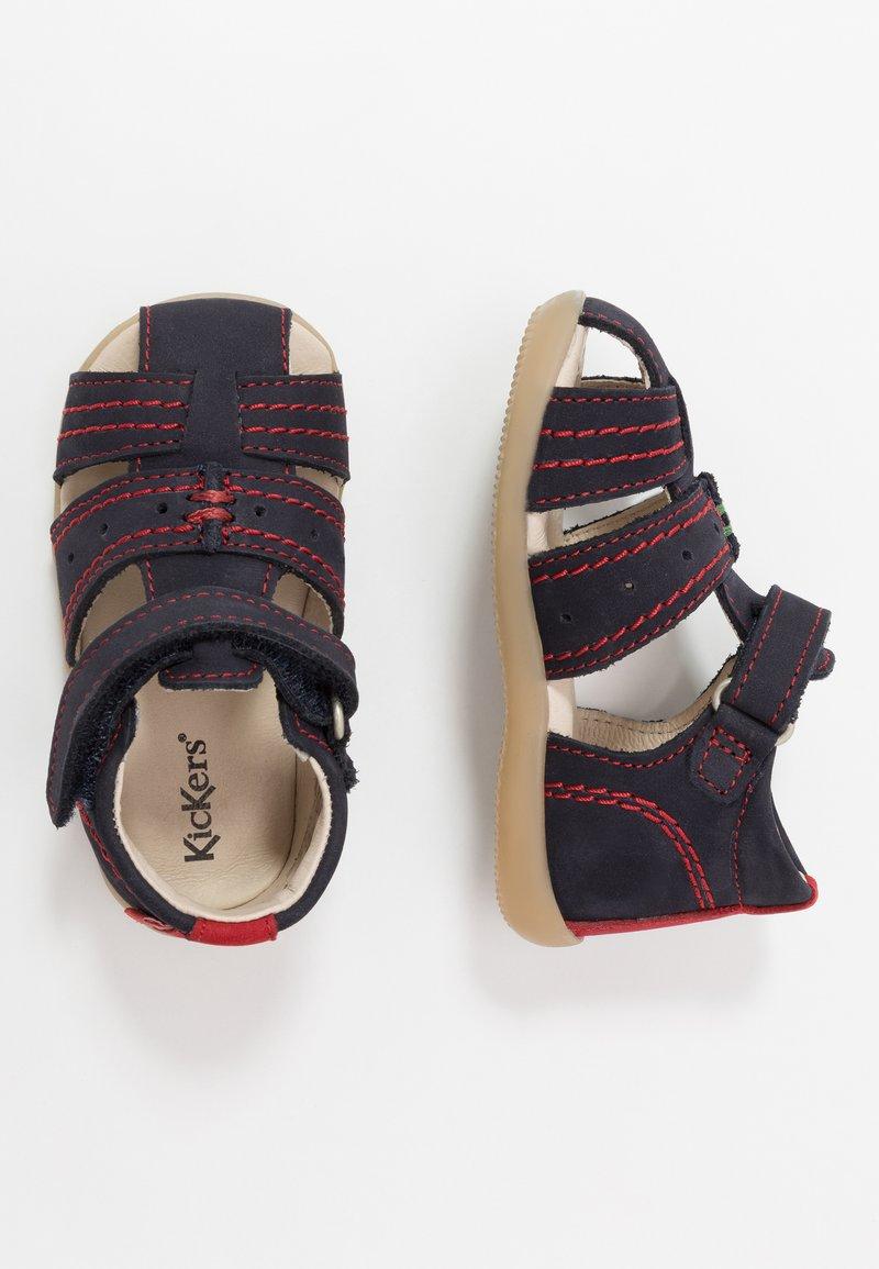 Kickers - BIGBAZAR - Babyschoenen - marine/rouge