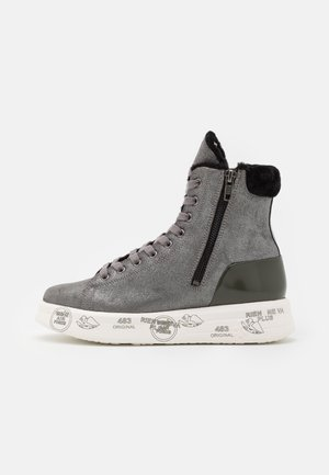 EDITH - High-top trainers - grey