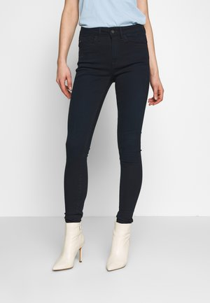 LHANA HIGH SUPER SKINNY - Jeans Skinny Fit - worn in midnight