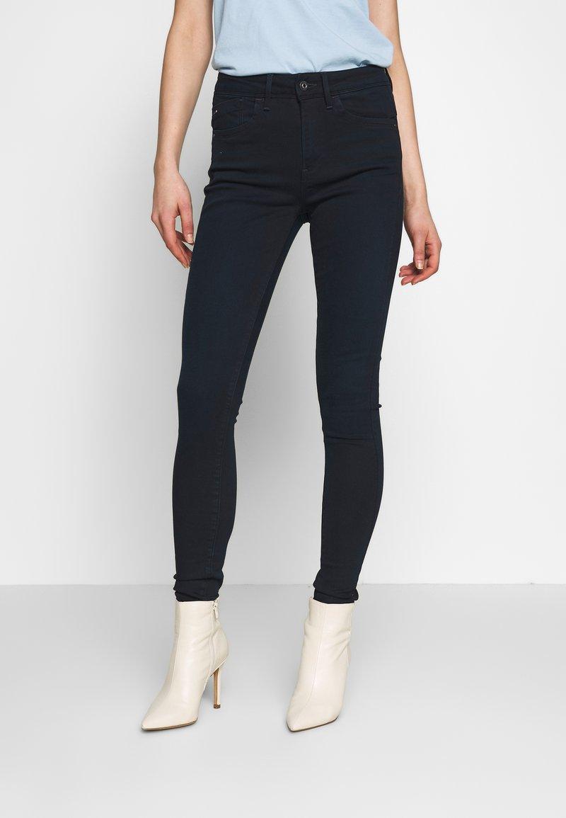 G-Star - LHANA HIGH SUPER SKINNY - Jeans Skinny Fit - worn in midnight