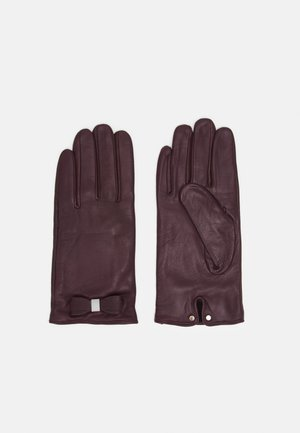 FRANNCA BOW DETAIL GLOVE - Guanti - purple