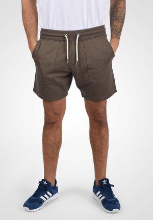 SWEATSHORTS MULKER - Spodnie treningowe - brown