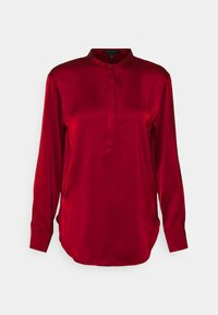 Banana Republic - TUNIC HIGH SLIT - Blouse - mulled cranberry - 4