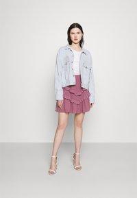 Trendyol - SIYAH - A-line skirt - lila - 1