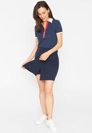 HEIDI - A-line skirt - dark navy