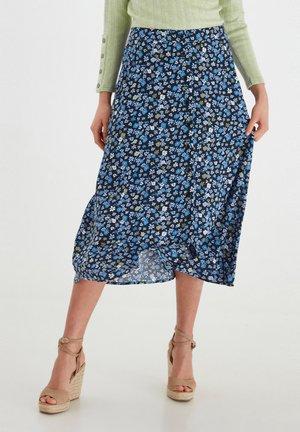 A-line skirt - brunnera blue mix