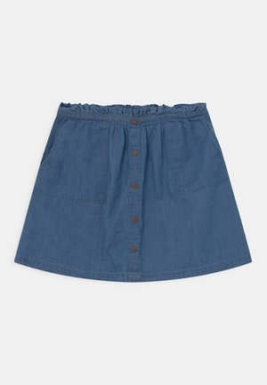 TEEN GIRLS - Mini skirt - denim blue