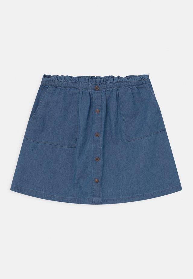 TEEN GIRLS - Mini skirt - denim blue