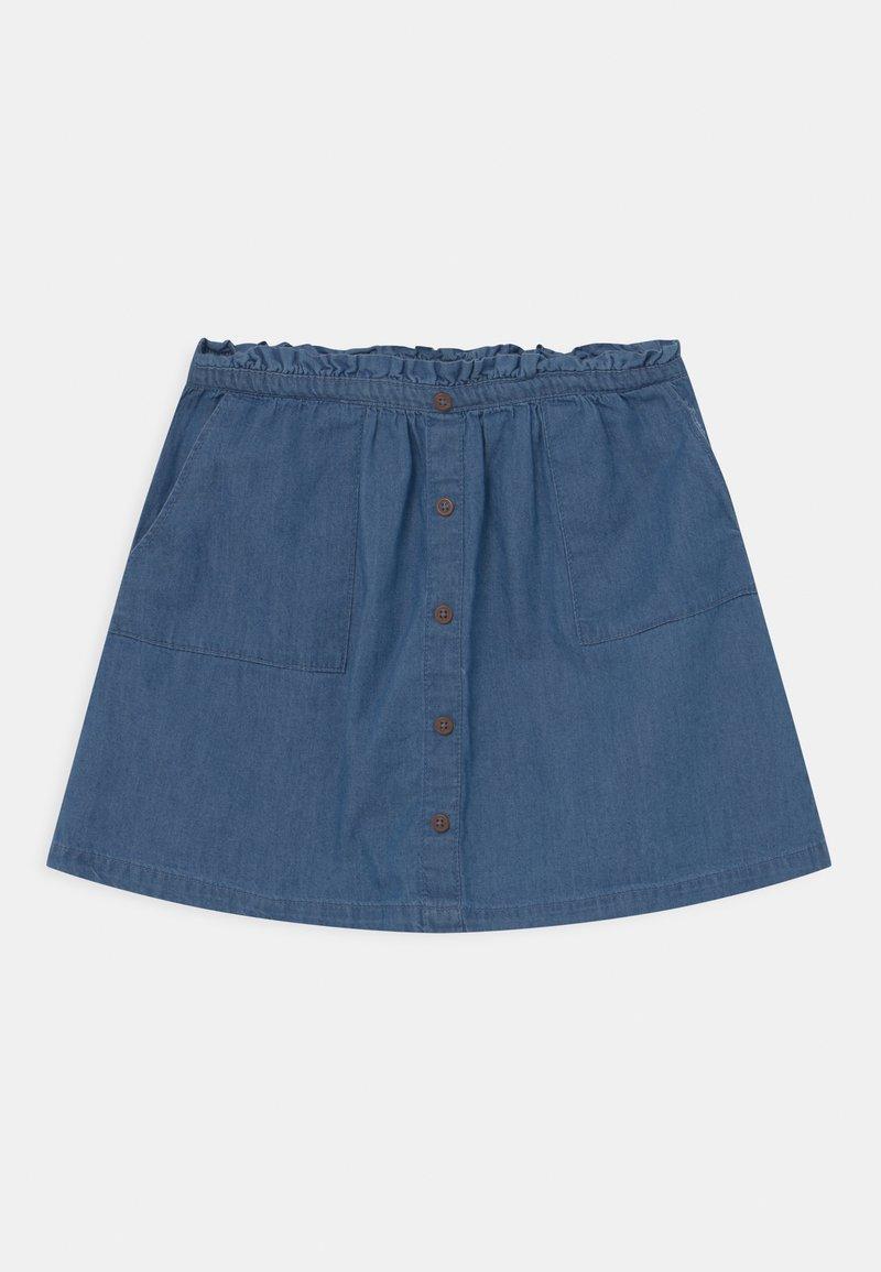 Lemon Beret - TEEN GIRLS - Mini skirt - denim blue