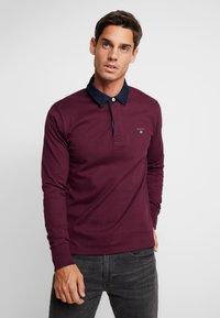 GANT - THE ORIGINAL HEAVY RUGGER - Polo shirt - port red - 0