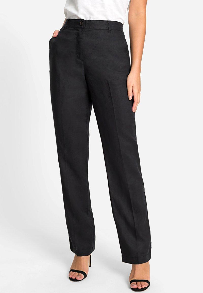 Olsen - Trousers - schwarz