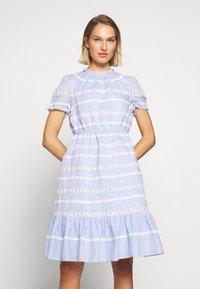 J.CREW - JOPLIN DRESS - Denní šaty - faded peri - 0