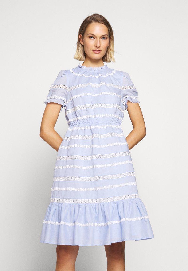 J.CREW - JOPLIN DRESS - Denní šaty - faded peri
