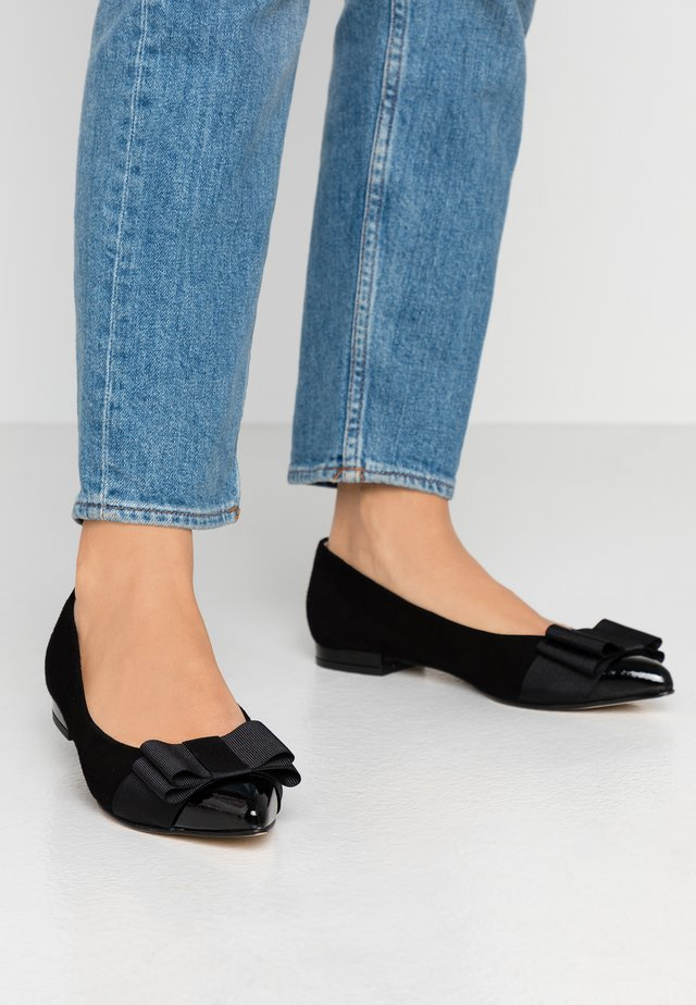 PARKER - Ballet pumps - black