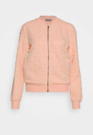 ONLKIMBERLY JOYCE - Zip-up hoodie - cameo rose